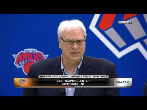 Phil Jackson Addresses Health Concerns For New Knicks
