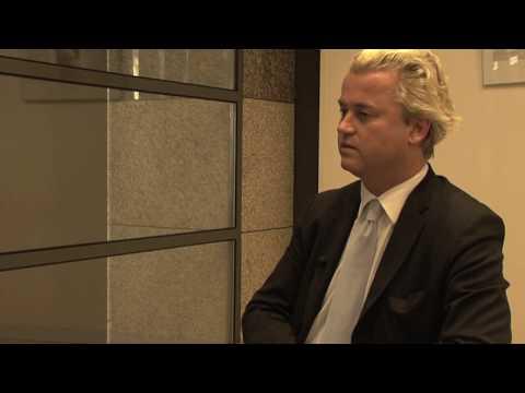 Voor de Wereldomroep interviewde Mohamed Amezian en ik PVV-voorman Geert Wilders.
