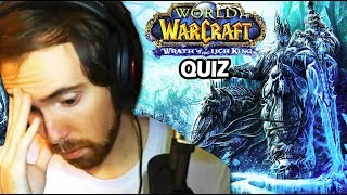 Asmongold Takes the WOTLK Fact or Crap QUIZ