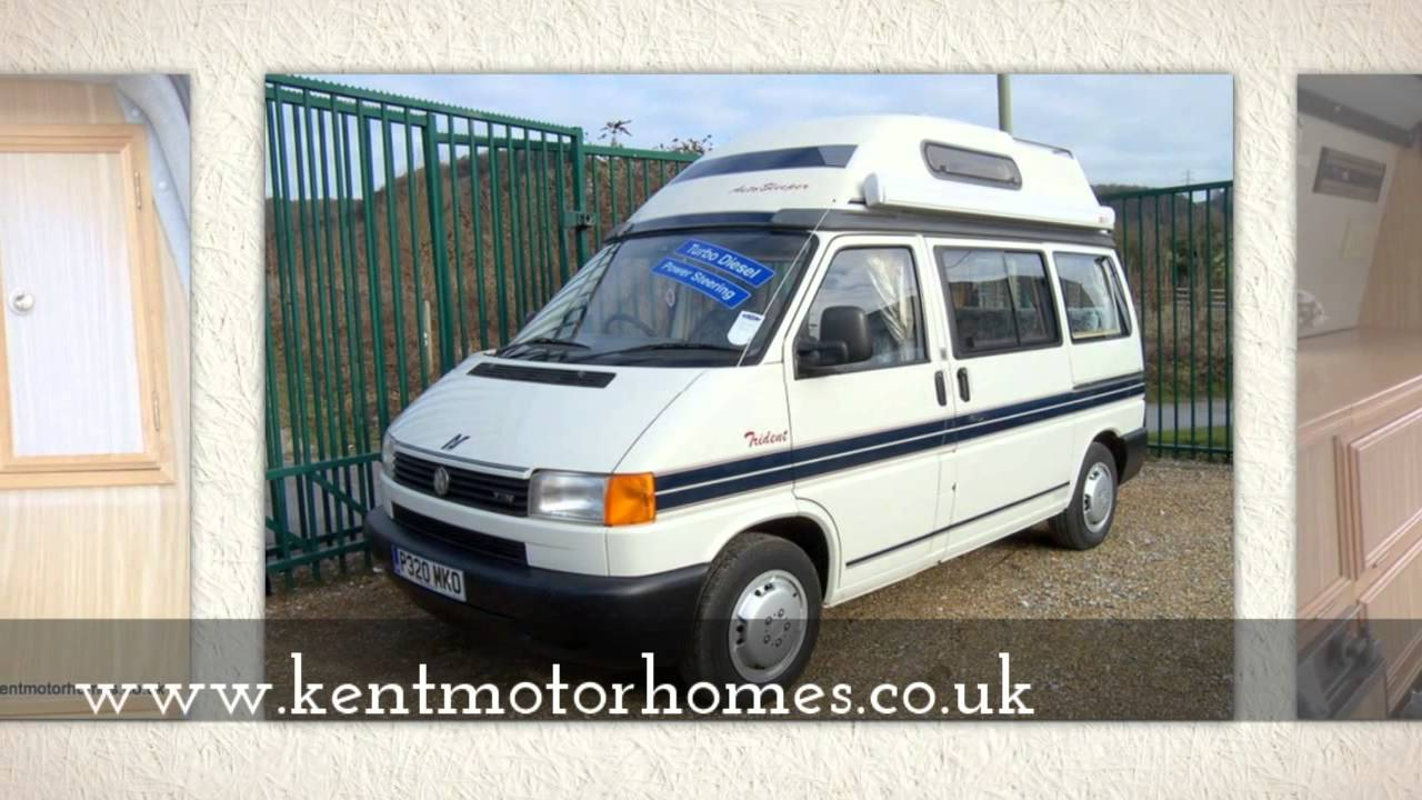 Volkswagen T4 Autosleeper Trident Camper at Kent Motorhome Centre - YouTube