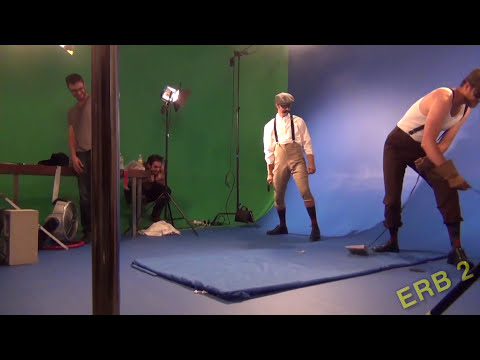Epic Rap Battles of History.  Behind the Scenes.  Mario Bros vs Wright Bros.