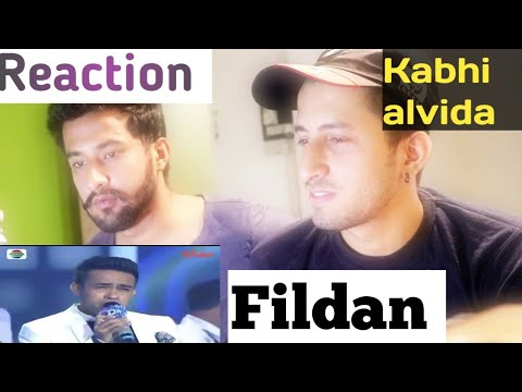 Duet Romantis Fildan dan Lesti - Kabhi Al Vida  | INDIAN  REACTION