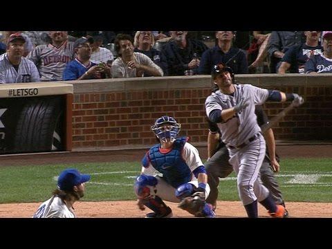 DET@CHC: Tigers club five home runs vs. the Cubs