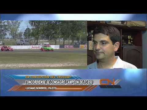 Luciano Sendros se consagró Campeón del TC 850