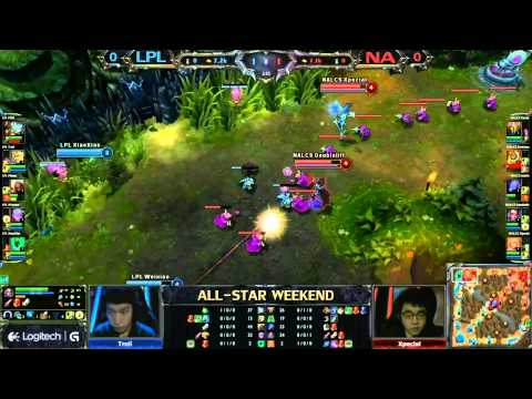 2013 ALL-STAR League of Legends NA vs China game 1