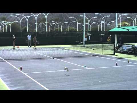 Agnieszka Radwanska Target Practice   WTA Insider
