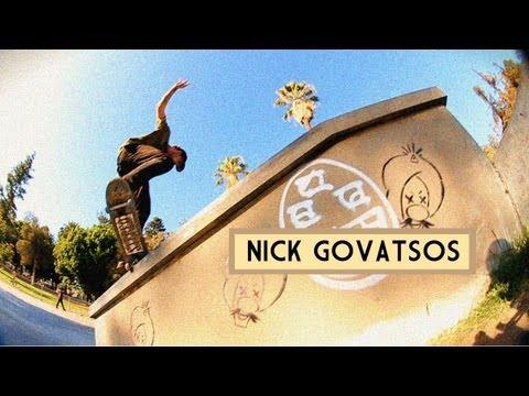 Nick Govatsos Skates Lincoln Plaza