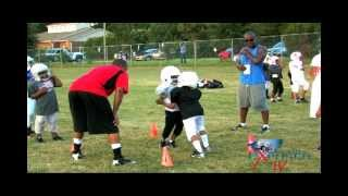 "Filmmaker/Pop Warner Youth Football: Coach Levon ""Vandem P"" Hinton-Raleigh North Carolina-HipHopNC"
