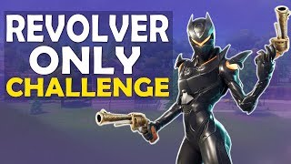 REVOLVER ONLY CHALLENGE | BUILD BATTLES | INTENSE FIGHTS FUNNY GAME - (Fortnite Battle Royale)