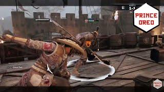 [For Honor] NEVER challenge a serious Musha! - Aramusha Duels