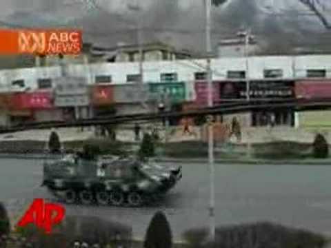 Tourist Tells of Tibet Violence