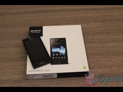 Sony Xperia Sola Unboxing Hands on Review - iGyaan