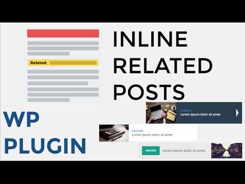 Inline Related Posts PRO - Плагин для вставки в Статью связанных сообщений Премиум версия