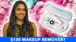 I Tried A $130 Electronic Makeup Remover