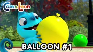 Cam & Leon   Balloon #1   Cartoon for Kids