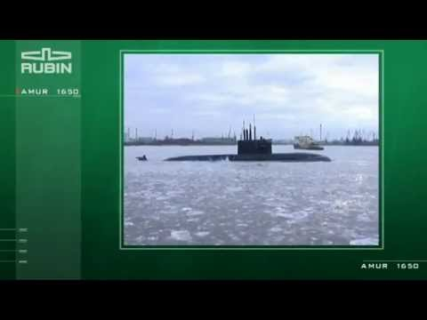 Amur 1650 class submarine