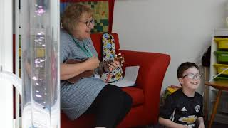 The role of music therapy at children's hospices: We love music and so does Nathan