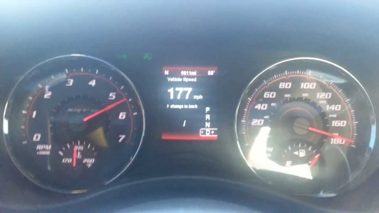 Top Speed Run (... 2012 Challenger Rt Hemi