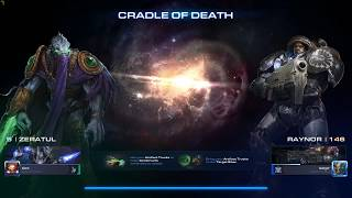 Starcraft 2 - Coop - Cradle of Death - Brutal - Zeratul