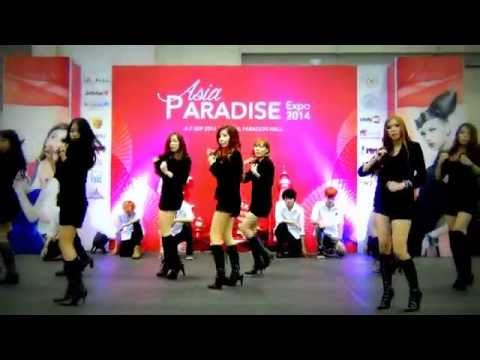 girls9 Cover mr.mr. (snsd)  asia Paradise Cover Dance 2014 video
