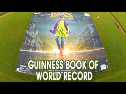 Akshay Kumar 's Boss in Guiness Book of World Records
