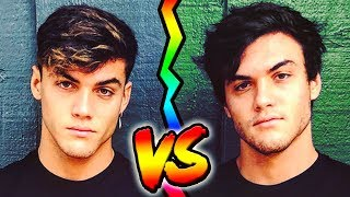 DOLAN TWINS 👬 10 Things You Didn`t Know About ETHAN & GRAYSON! ft SISTER SQUAD,JAMES CHARLES,EMMA