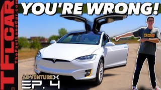 The Tesla Model X Has a BAD Rap: Here's Why It's Way Cooler Than You Think | Adventure X Ep. 4