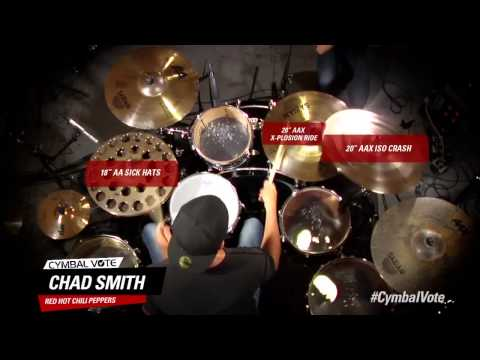 Cymbal Vote - Chad Smith - Performance Part 1