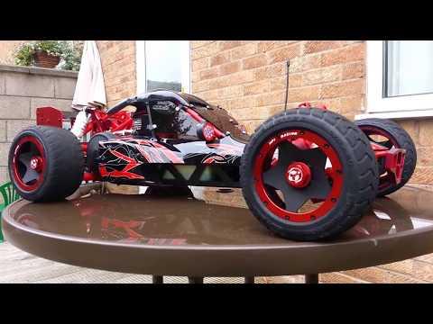Hpi baja 5b in red/black