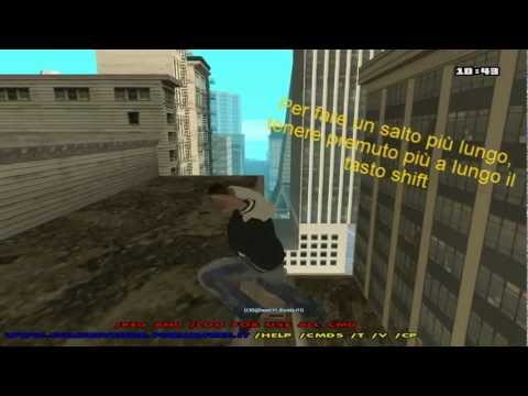CLEOTUTORIAL Gta San Andreas Parkour Mod v1.2.0 Infinite Wallrun DOWNLOAD