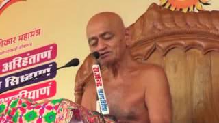 विद्यासागर महाराज के विदिशा में प्रवचन (13-7-2014) | Disc - 1, Part - 1
