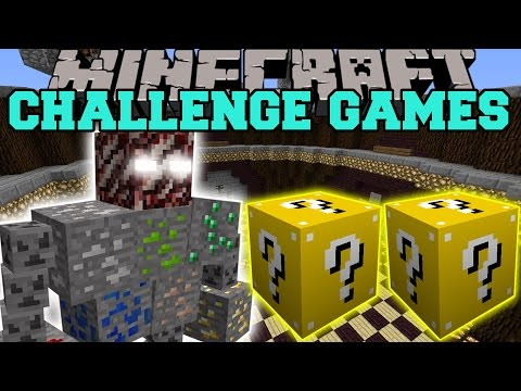Minecraft: ORE BOSS CHALLENGE GAMES - Lucky Block Mod - Modded Mini-Game