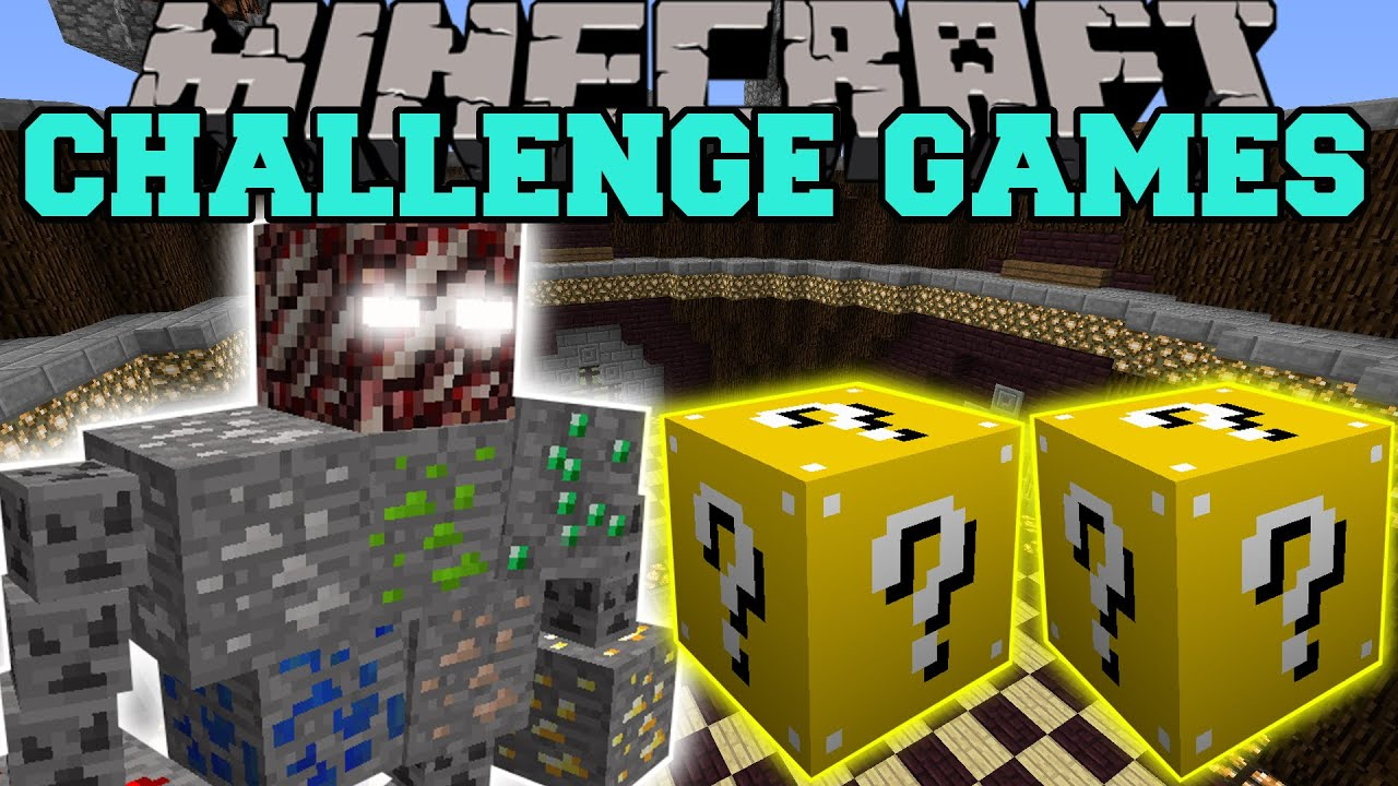 Minecraft Ore Boss Challenge