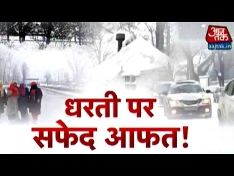 Snowfall Across the Nations Cause Havoc