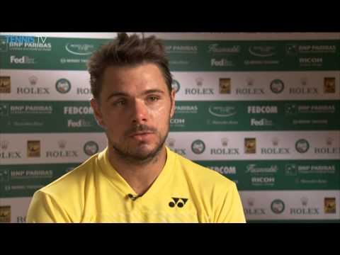 Stanislas Wawrinka Talks About Playing His First Monte Carlo Final
