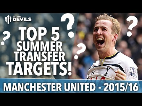 Top 5 Summer Transfer Targets | Manchester United | 2015/16