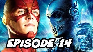 The Flash Season 2 Episode 14 - TOP 10 WTF and Easter Eggs