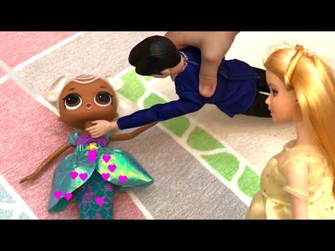 Алиса Играет с ЛОЛ Русалочкой ! Игра для девочек