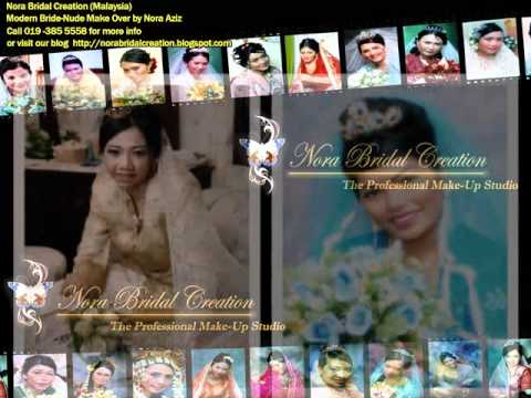 Nora Bridal Creation (Malaysia) : Modern Bride-Nude Make Over by Nora Aziz