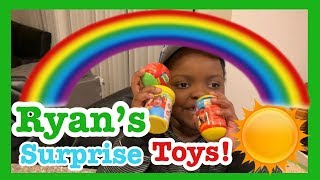 Ryan Toys Review: Slime surprise  Sqiushy surprise and Bath Ball