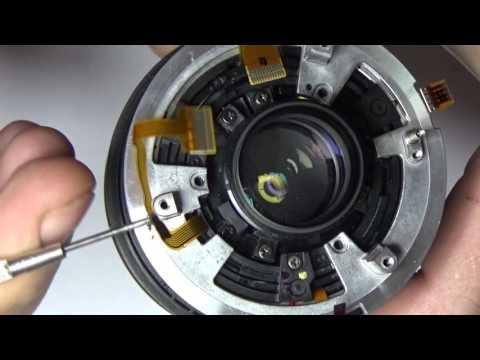 Nikon Nikkor 18-70 AF ремонт repair English subtitles