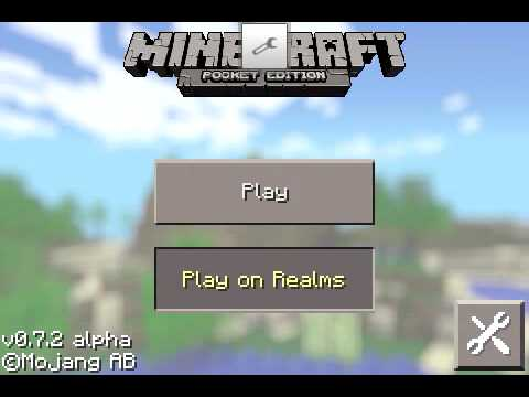 Como Entrar a Play On Realms Minecraft PE 0.7.2