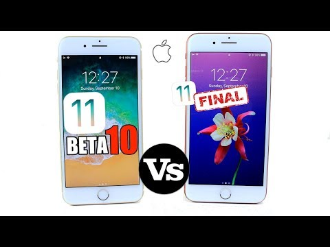 iOS 11 Final Version Vs BETA 10 | New Features & Changes