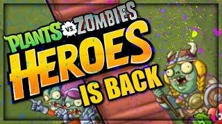 PVZ Heroes is BACK! Set 4 VALK BRAINSTORM! | Plants vs. Zombies: Heroes Gameplay