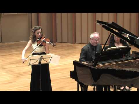 Camerata Pacifica — Beethoven, Violin Sonata in G Major, Op. 96, 1st movement.mp4