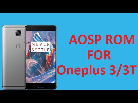 ONEPLUS 3/3T [OFFICIAL] AospExtended ROM V3.2 (Installation /Quick Look)