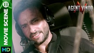 Saif Ali Khan sacrifices his life for his country | Agent Vinod