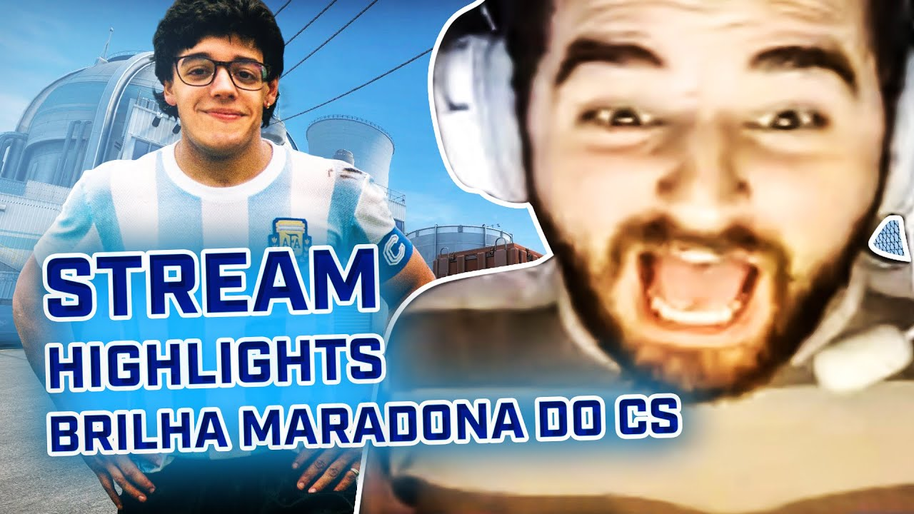 BRILHA MARADONA DO CS