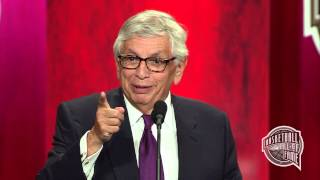 David Stern's Basketball Hall of Fame Enshrinement Speech