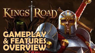KingsRoad Gameplay & Features Overview - Browser-Based F2P Action RPG